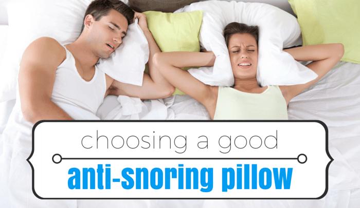 Image Gallery Snoring Pillow
