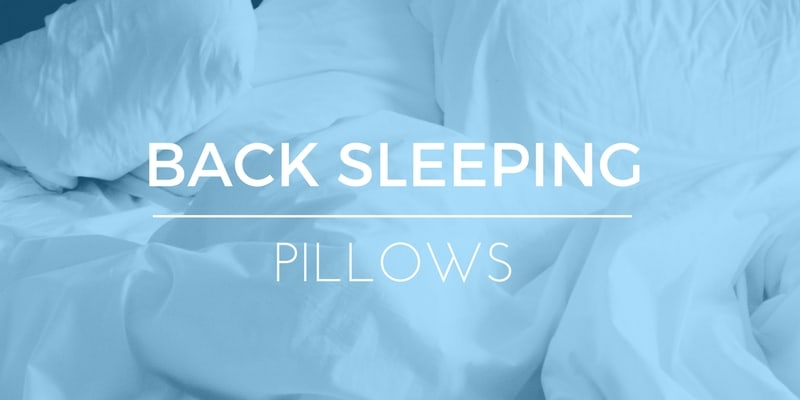 shopping guide best pillows for back sleepers