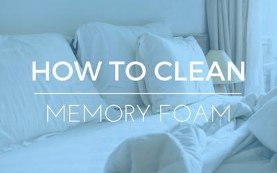 How to Clean Memory Foam – Remove Stains From Your Pillows and Mattresses