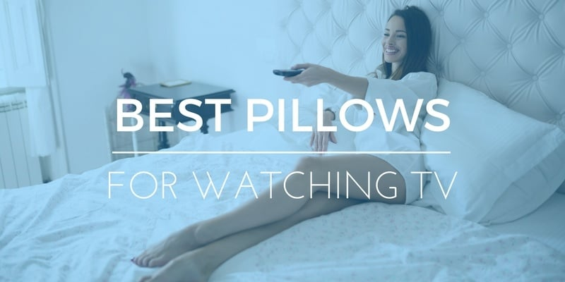 best pillows for sitting or watching television in bed reviews
