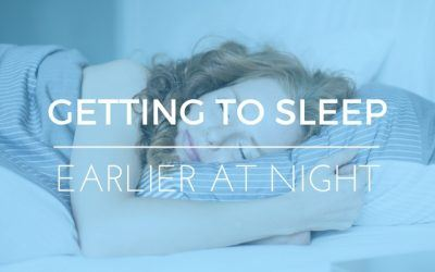 How To Get To Sleep Earlier – Tips to Stop Tossing & Turning