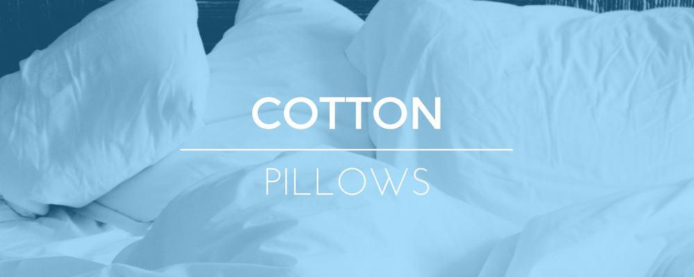 Cotton Filled Pillows