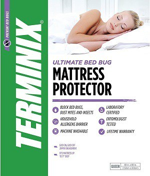 Best bed bug mattress protectors our top five with for Best rated bed bug mattress cover