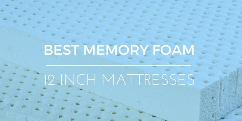 BEST 12 INCH FOAM MATTRESSES