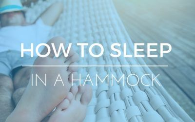 How to Sleep in a Hammock: What They DON'T Want You to Know