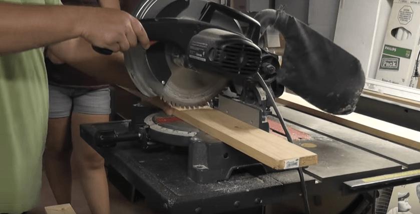Cut bed slats