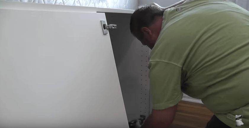 Add cabinet door