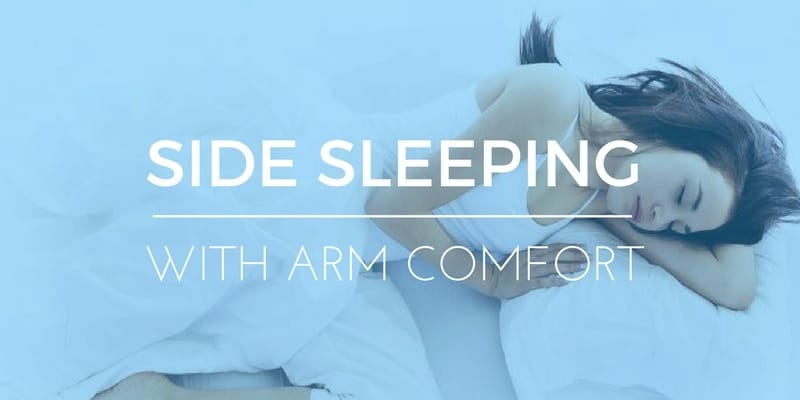 SIDE SLEEPING WITHOUT YOUR ARM FALLING ASLEEP