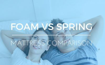 Memory Foam vs. Spring Mattresses? Which Gives You a Better Night's Sleep?