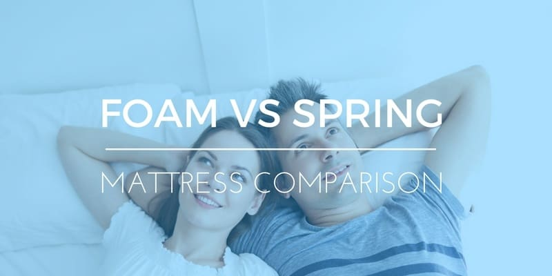 FOAM VS SPRING MATTRESSES