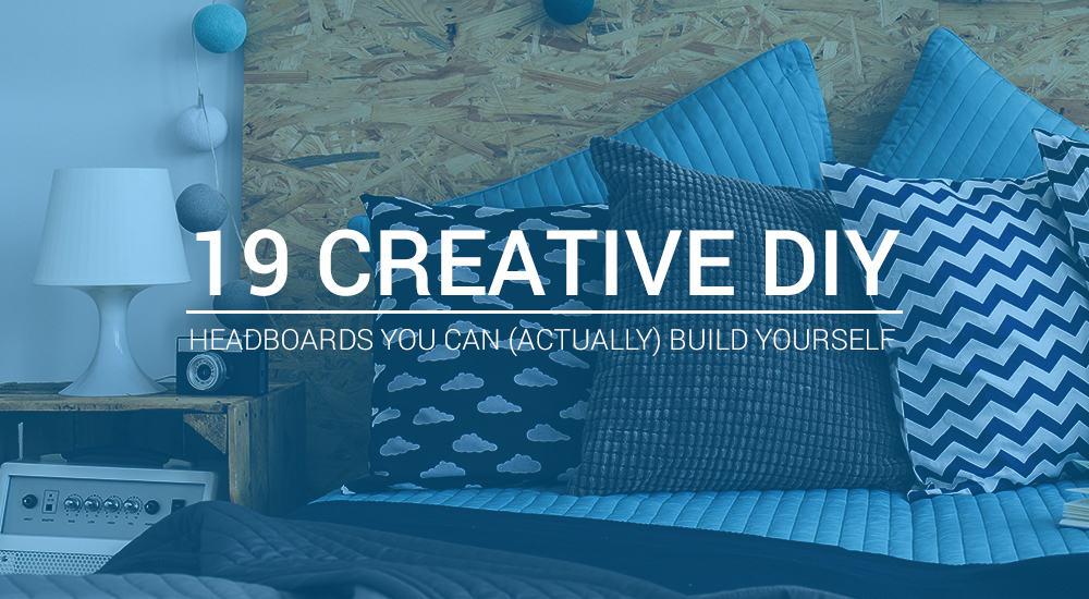 19 Creative DIY Headboards You Can (Actually) Build Yourself