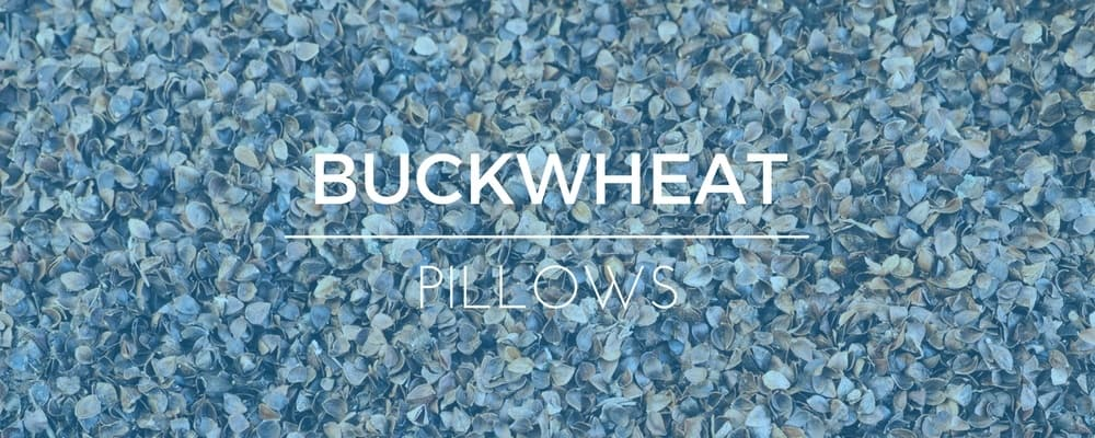 Buckwheat Hull Filled Pillow