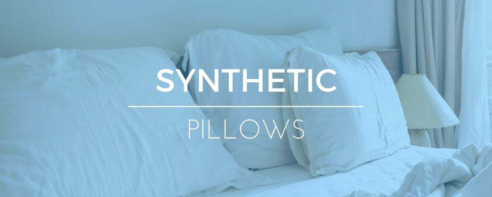Polyester & Synthetic Filled Pillows