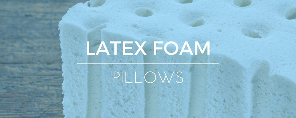 Latex Foam Pillows