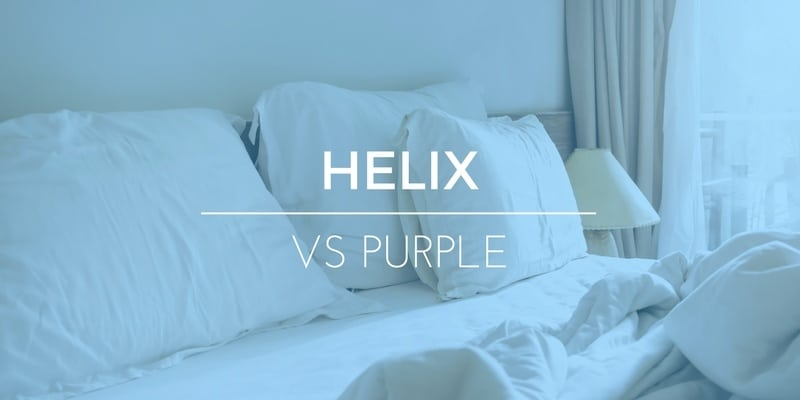 Helix vs Purple Mattresses