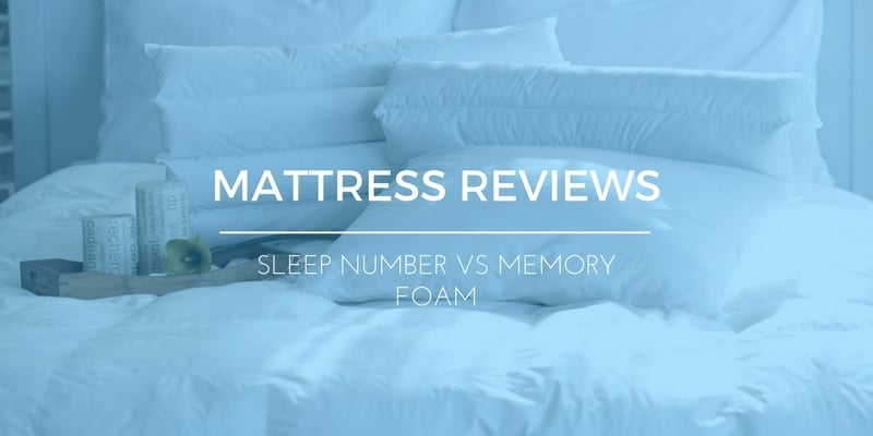 Sleep Number vs Memory Foam