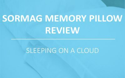 Sormag Memory Pillow Review: Like Sleeping on a Cloud