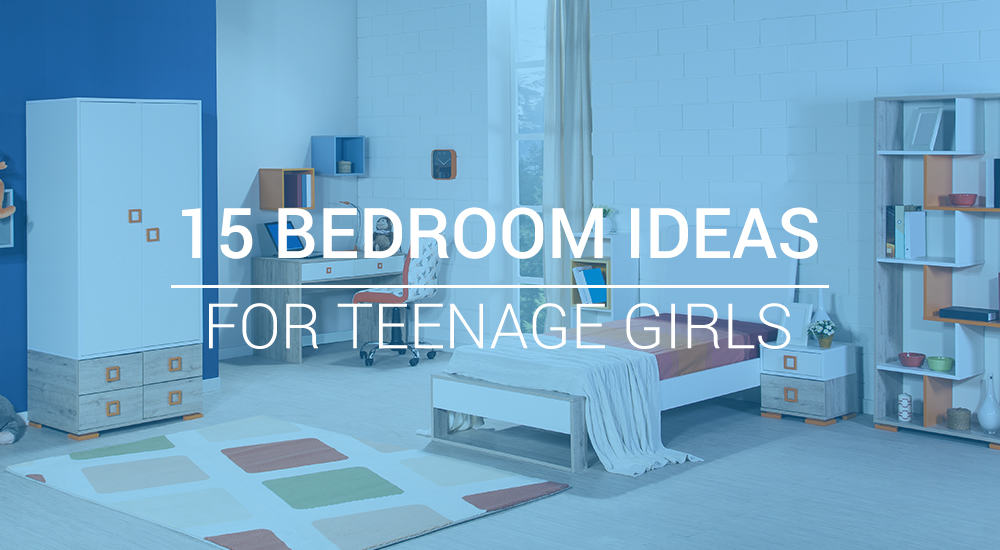 15 Bedroom Ideas for Teenage Girls