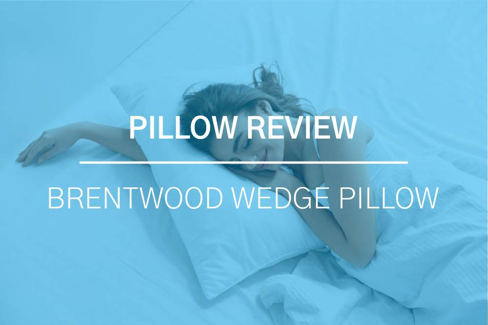 Brentwood Home Zuma Bed Wedge Pillow Review