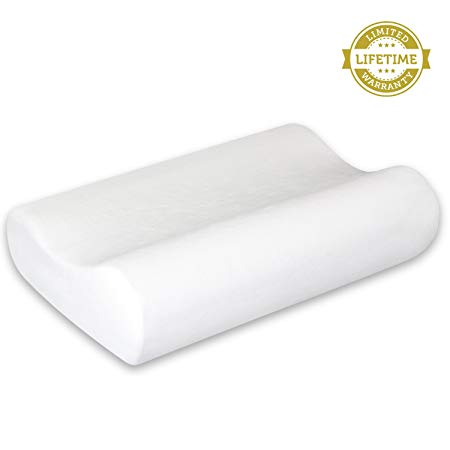 Best Contour Memory Foam Pillows For Back Sleepers Elite