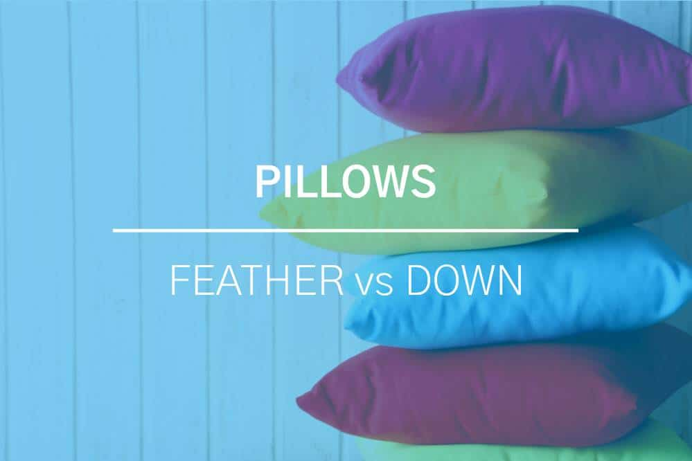 Feather Pillows vs Down Pillows 2