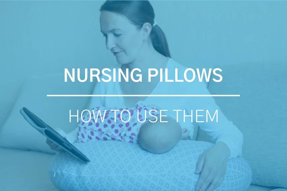 How to Use Nursing Pillows 3