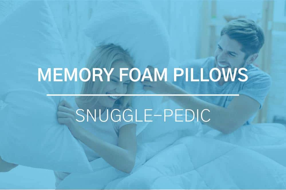 Snuggle-Pedic Memory Foam Pillow Review