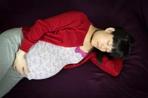 Sleeping for pregnant women