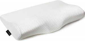 EPABO Contour Memory Foam Pillow is the best cervical pillow for neck pain. It is also an orthopedic pillow, meaning it has been designed to provide support while you sleep. This pillow provides sleepers with therapeutic support while you sleep, ensuring you will wake up refreshed after a proper night's sleep.