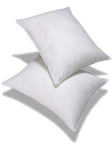 This is a great choice for people who suffer from allergies because the allergen-free pillow will help to relieve the symptoms associated with allergies, like wheezing, coughing and sneezing.