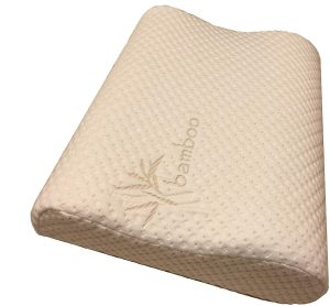 The special density foam used in this pillow was specifically chosen by a Chiropractor for ultimate comfort.