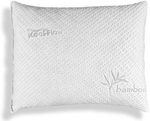 The foam in this pillow is CertiPUR-US certified and meets stringent standards and has no ozone depleters and other heavy metals. The shredded memory foam will not go lumpy or flat but will maintain it's shape.