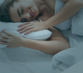 Sleeping in your side can result in pain in your shoulder, adding the right pillow can help to reduce that pain.