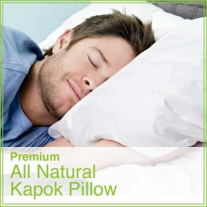 This is one of newer natural pillows on the market but our research shows they are growing in popularity. Filled with natural kapok fiber and covered with 100% organic cotton, this pillow is both natural and organic. This is one of the best natural pillows we could find and supports a natural, healthy, chemical-free lifestyle.