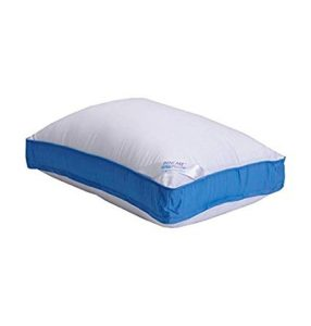 This is bed pillow has a rating of 4.5-stars from almost 600 people and is Amazons Choice for pancake pillows.