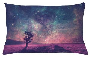 The artwork used in the design of this pillow was supplied by NASA, making it realistic and clear. The pillow is cut and sewn by hand and no harmful dyes are used in the making of this pillow