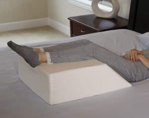 If you are having knee, back or leg surgery the InteVision Wedge pillow is a must buy pillow.