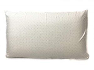 This pillow is 100% natural and will offer you support and comfort for your neck.