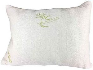 Elite Rest Shredded Memory Foam Pillow is the best adjustable loft alternative pillow on the market. This is a shredded memory foam pillow so it's even better than the gel microfiber and polyester filling of the Helix pillow. Memory foam conforms to the shape of your body perfectly and helps alleviate pressure, neck pain, and back pain.