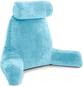 It supports your entire upper body better than anything other pillows - or so it claims.