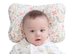 The magic of this pillow lies in the concave center, this shape is what will prevent your baby's head from flattening.