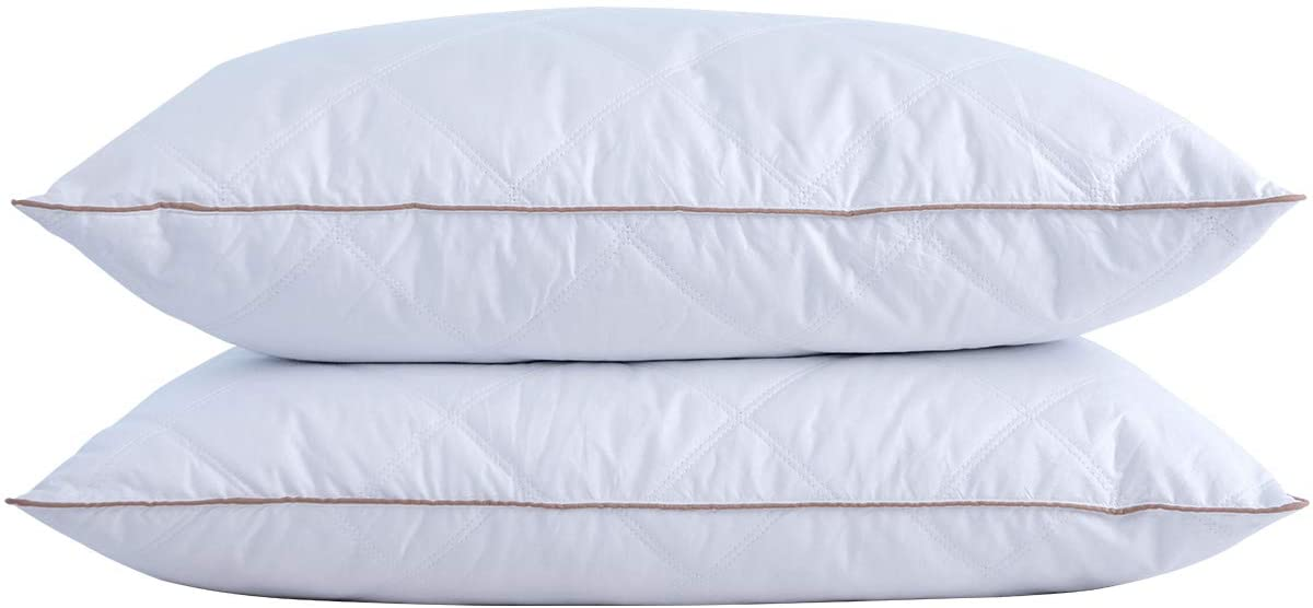 Finding the best pillow to sleep on will change the quality of sleep you are getting. These are the best pillows for your bed we could find.