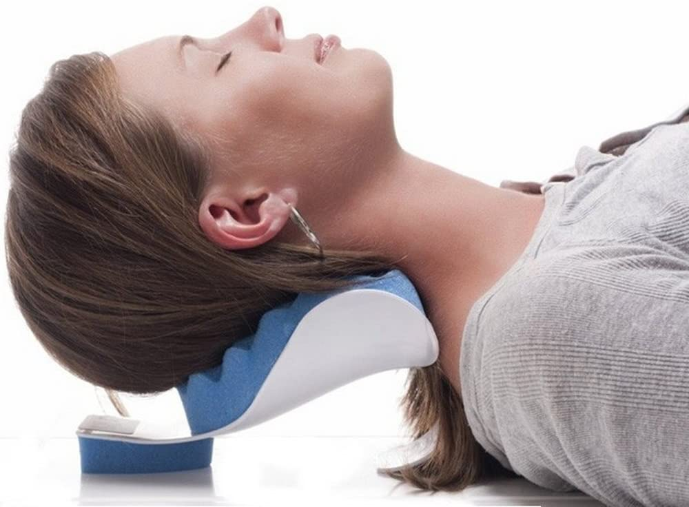Revolutionize the way you sleep with one of these ergonomically designed neck traction pillows.
