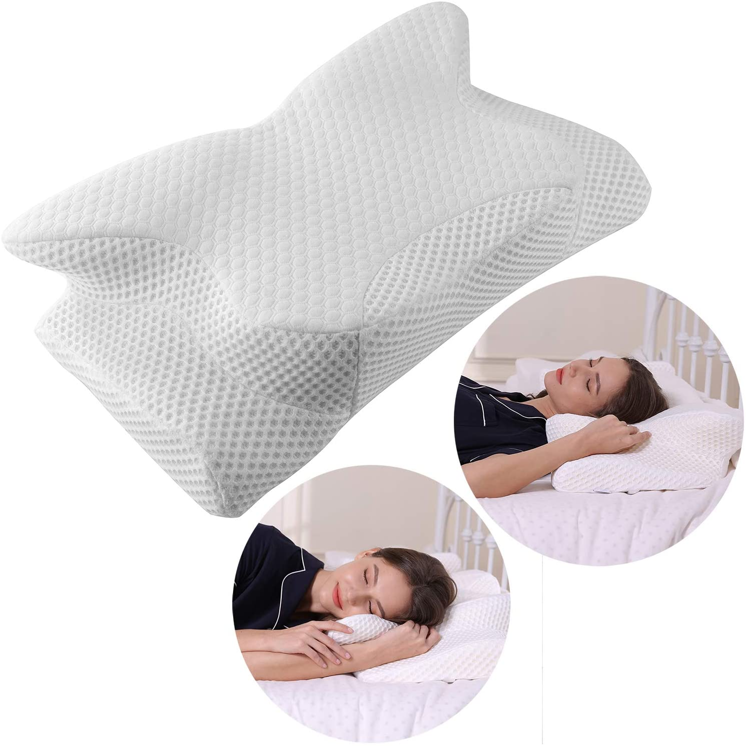 Are you looking for a cervical memory foam pillow? This article provides a detailed review of some of the best memory foam pillows for side sleepers and people with neck and shoulder pain.