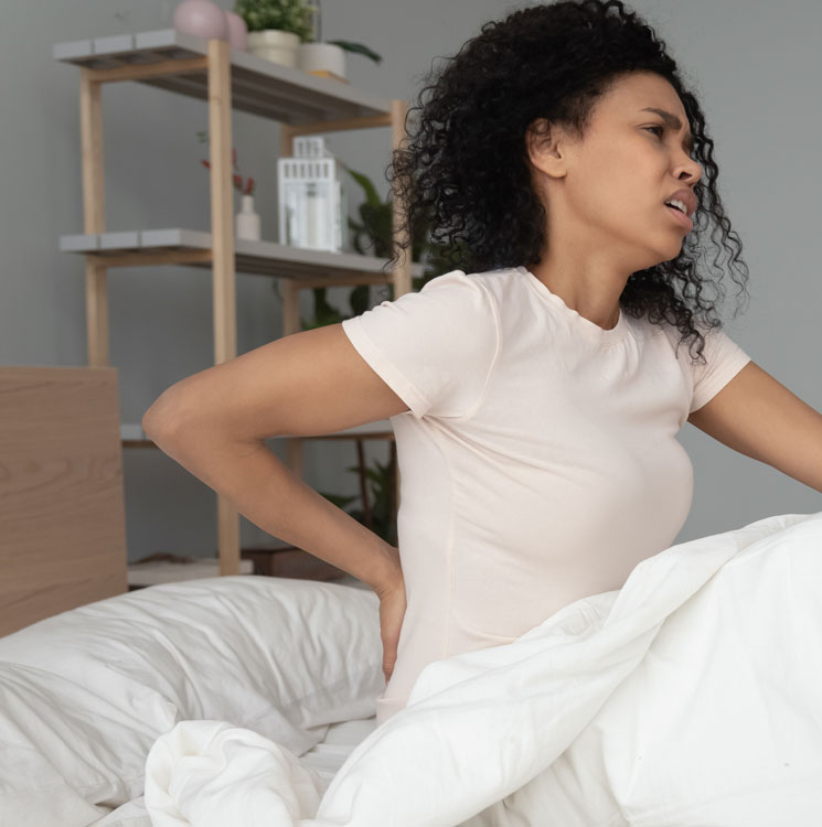best pillow for lower back pain