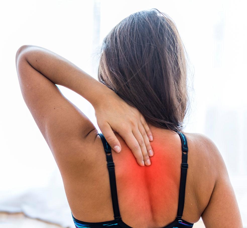 bet pillow for upper back pain