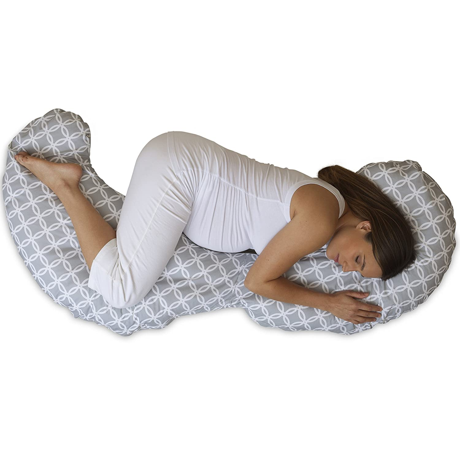 Queen Rose Pregnancy Pillow is widely considered the most popular total body pillow for pregnant women through every stage of the pregnancy. This article reviews the total body pillow.
